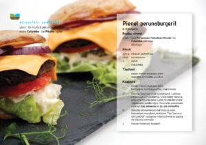 Perunatalo Hakulinen, resepti: perunaburgerit